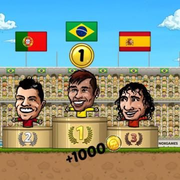 Игра Puppet Soccer 2014