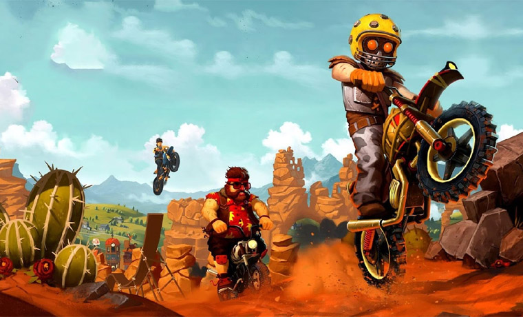 Мотокросс Trials Frontier