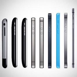 Эволюция моделей iPhone