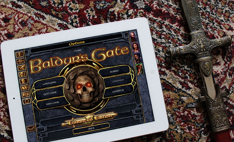 Baldur's Gate: Enhanced Edition для iPad