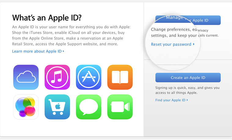 Apple ID и его создание