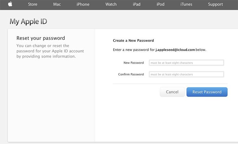 Отвязываем AppleID от устройства