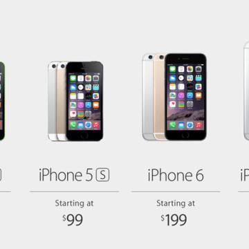 Все модели iPhone