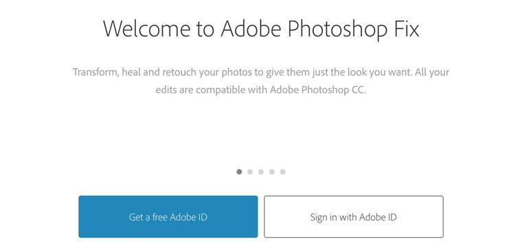 Создание Adobe ID
