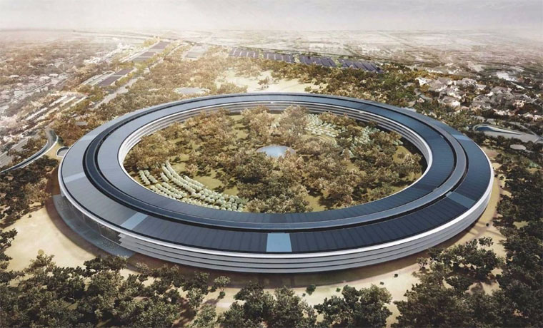 Здание Apple Campus 2 фото