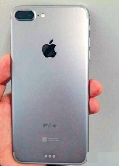Шпионский снимок нового смартфона Apple