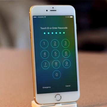 Экран блокировки iPhone