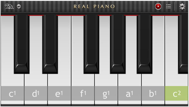 Real Piano для iPhone