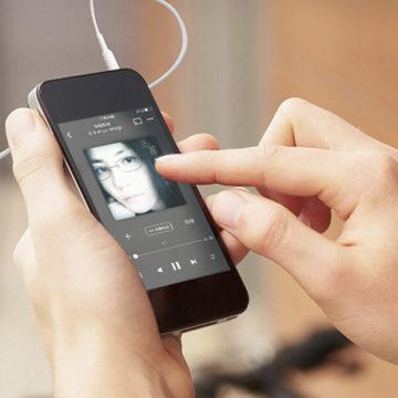 Музыка ВКонтакте на айфоне