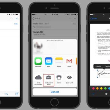 Работа с PDF на iPhone