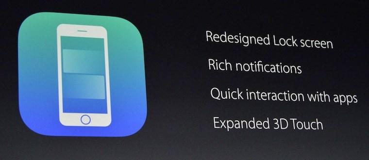 Экран блокировки в iOS 10