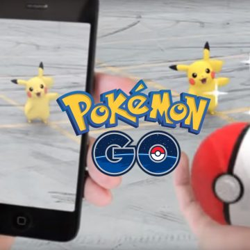 Pokemon Go на айфоне